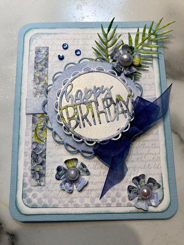 Hydrangea Happy Birthday
