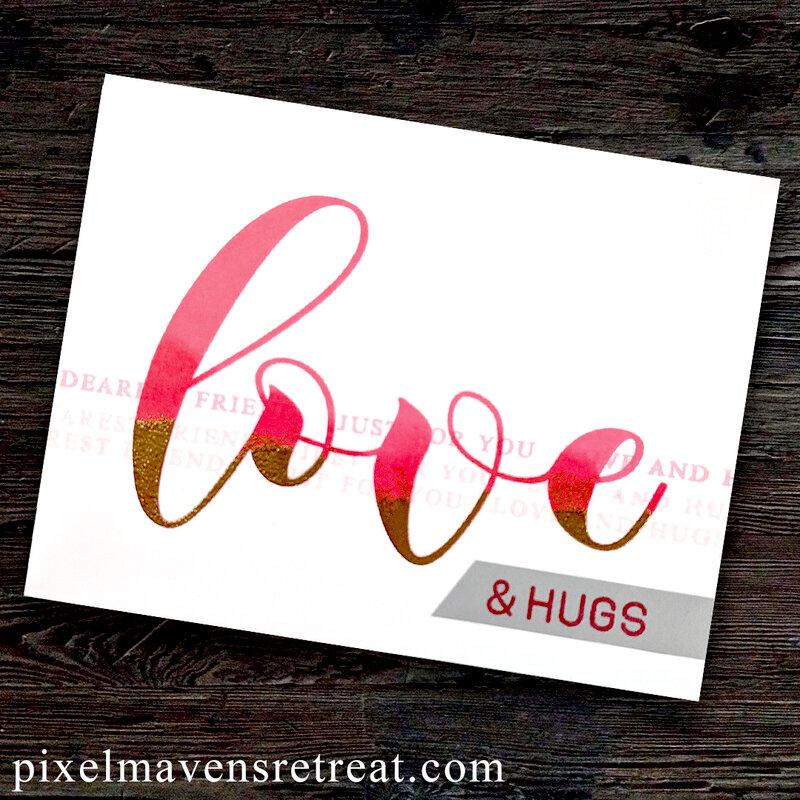 CAS Love Card for a Friend