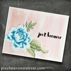 Peony Bouquet (Altenew) Just Because
