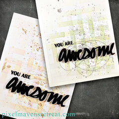 awesome multimedia cards - altenew