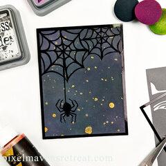 Distress Oxide Blends for Halloween #3