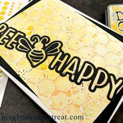Bee Happy Feat. Scrapbook.com Be Mine Cut File