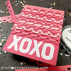 Sweet Scalloped Valentine ft. SBC Borders Cut File