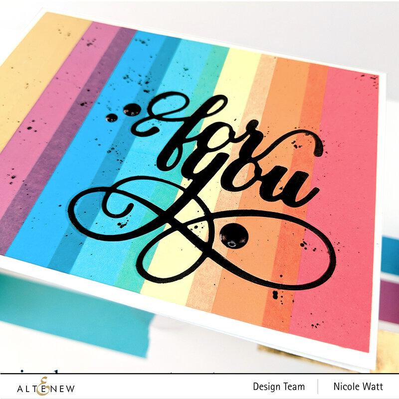 For You Rainbow Card