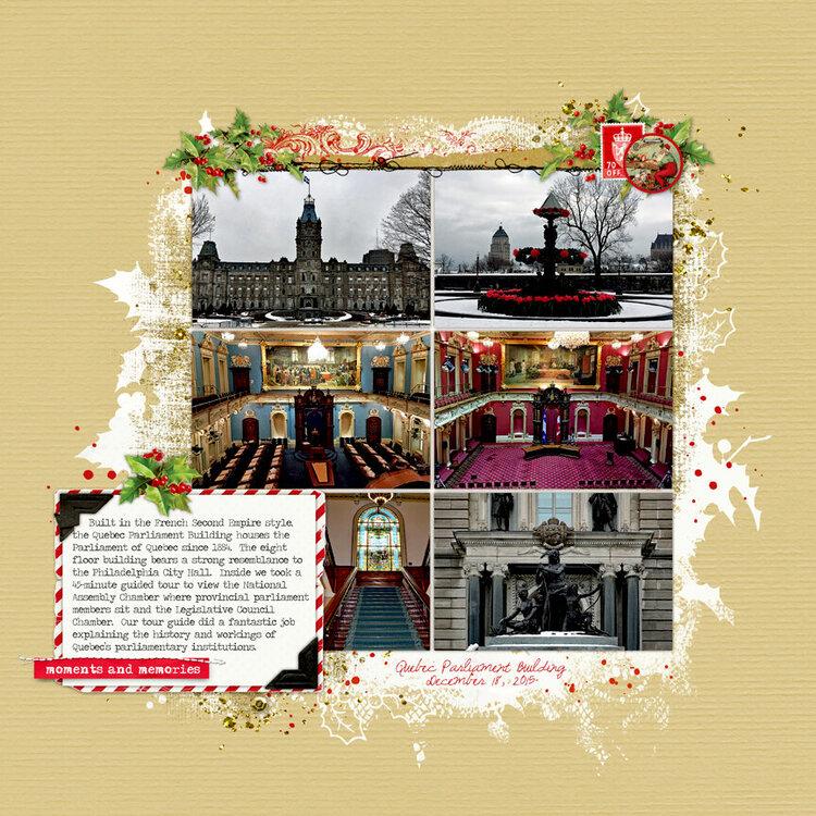 Quebec City Album Page 5