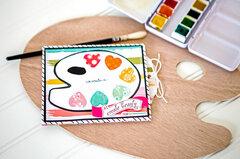 Artist Hello Card & Gift Card