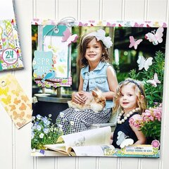 Layout on 12x12 Photo
