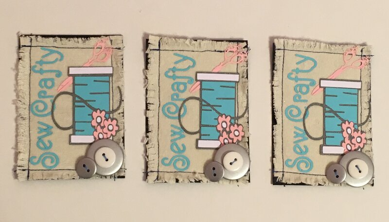 Sew Crafty ATC