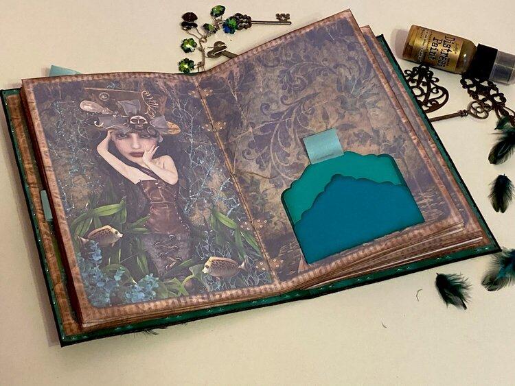 Steampunk Mermaid Journal for Caroline