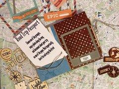 Bo Bunny World Traveler Mini Book