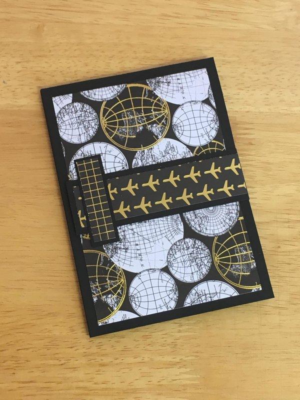 Passport Album with magnetic closure