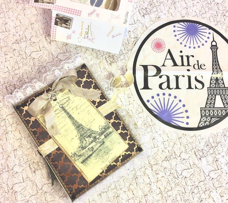 Mini Envelope Book for Paris Photos
