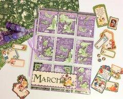 Graphic 45 Spring Pocket Letter