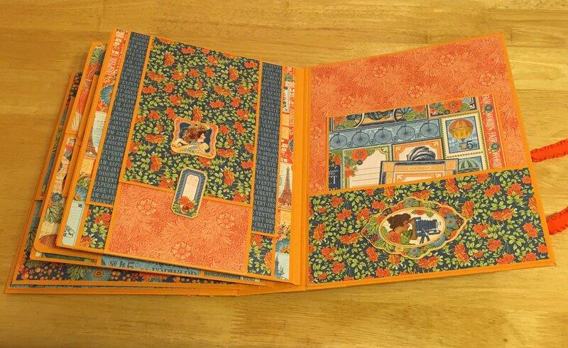 Inside pages of G45 World's Fair mini album