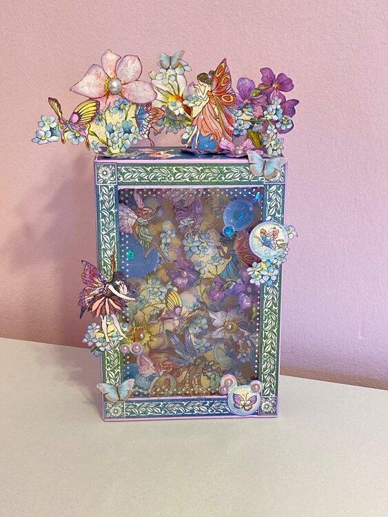 Fairie Wings Shadow Box