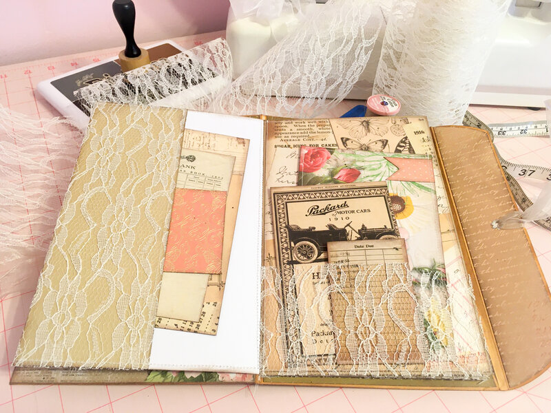 Manila Envelope Booklet/Junk Journal