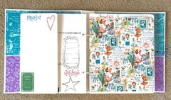 Graphic 45 Children�s Hour Planner/Journal/Scrapbook in one!