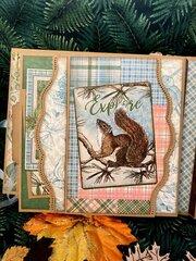 Graphic 45 Woodland Friends Mini Album