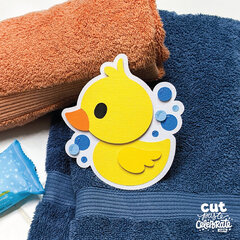 Rubber Ducky SVG Cut File