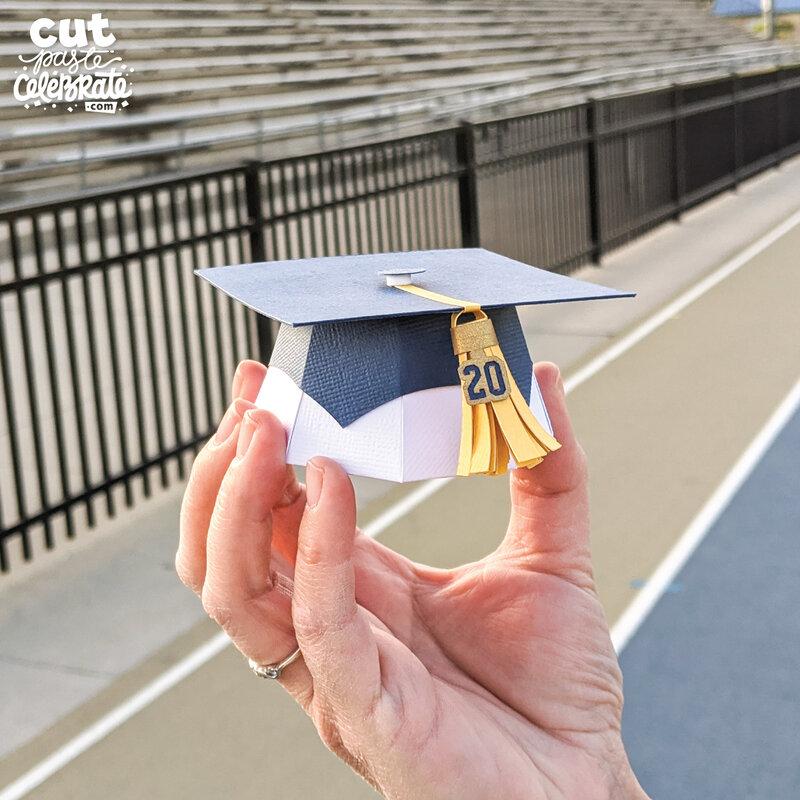 DIY Graduation Hat Favor Box