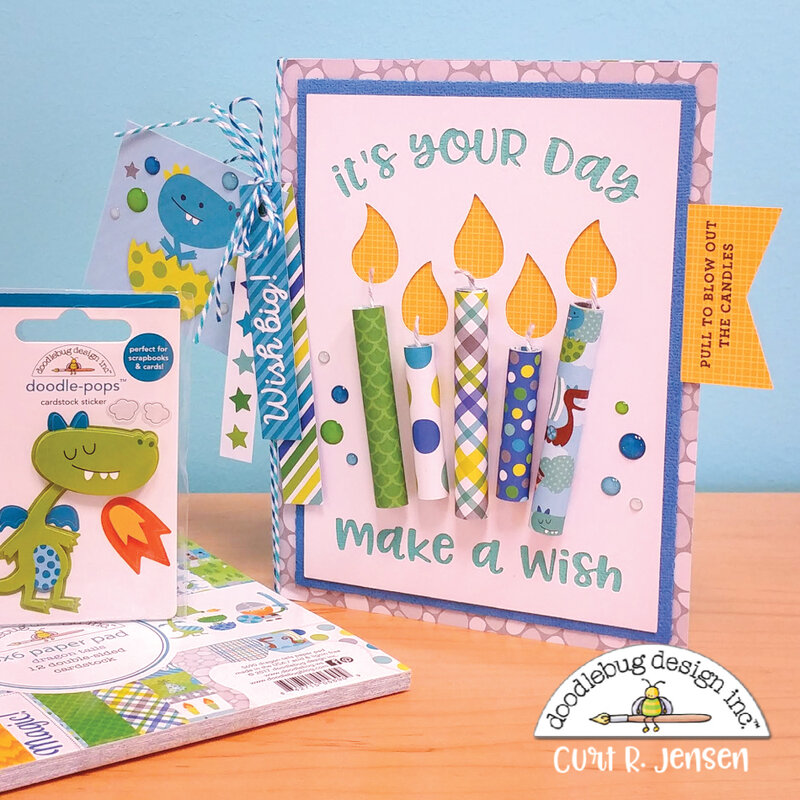 Interactive Candle Card