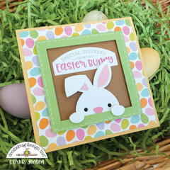 Easter Basket Pop-Up Card - OUTSIDE
