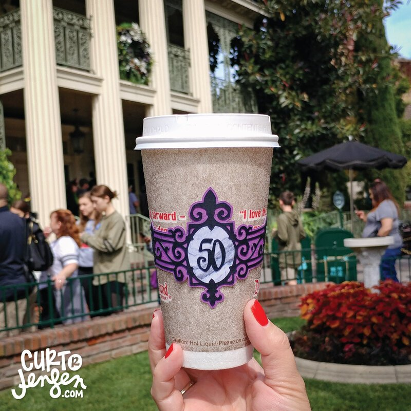 Drink Wrap - Haunted Mansion's 50th Anniversary Party