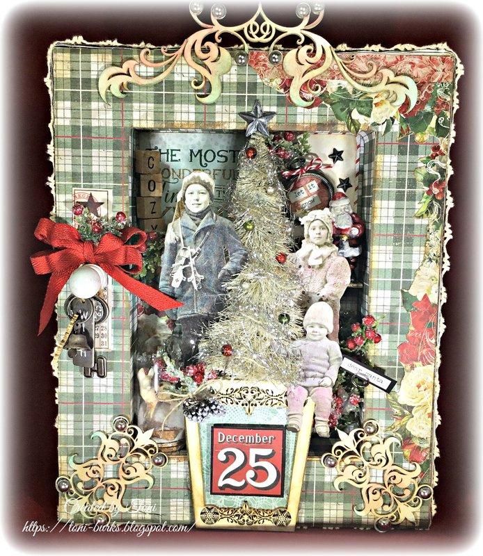 "Reverse Canvas ""Cozy Christmas"""