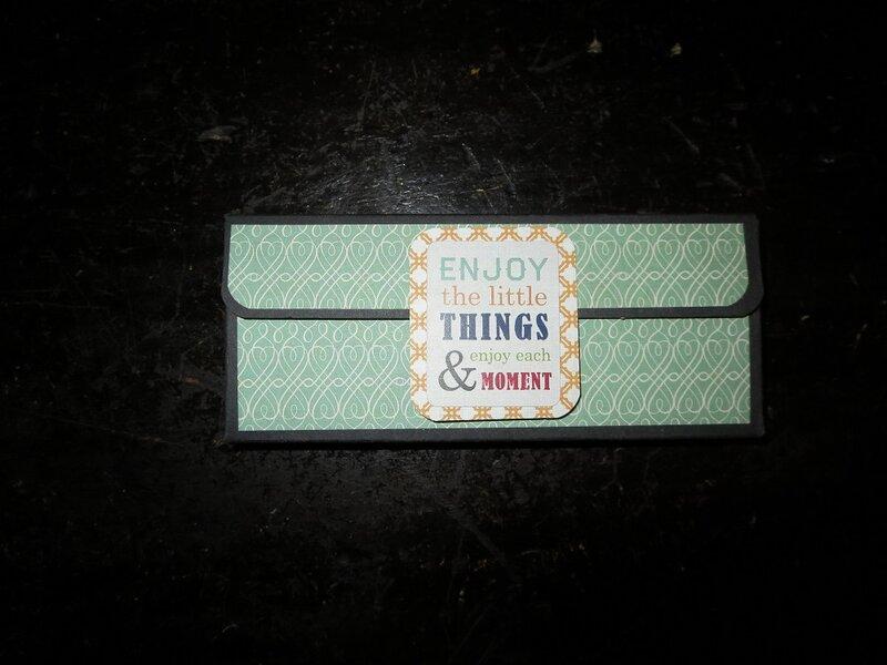 Birthday Treat Box/Card