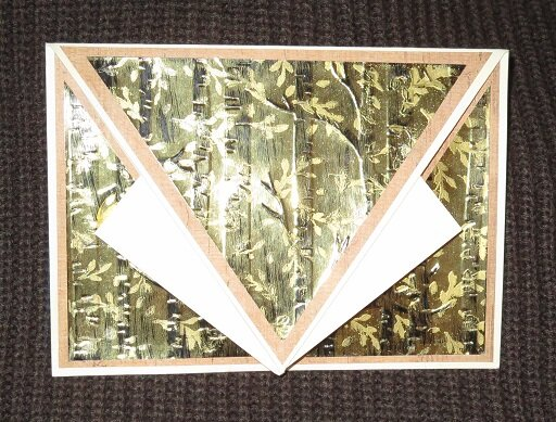 Arrow Fold Birthday Card