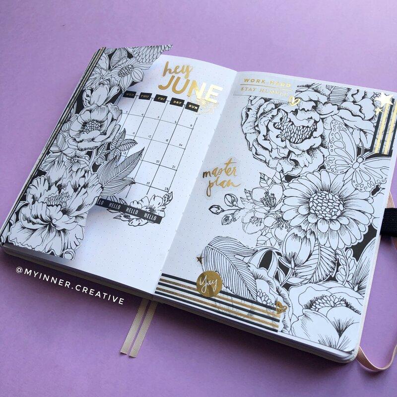 Repurposing your coloring book!