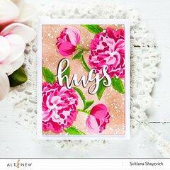Floral Hugs Card