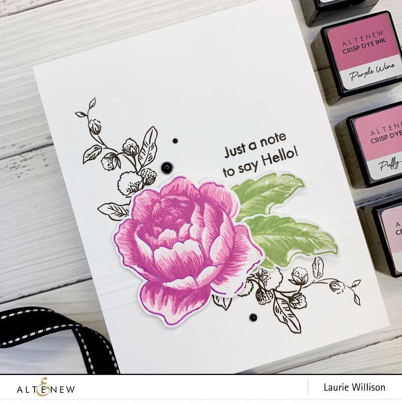 Rose Blossom Stamp Set