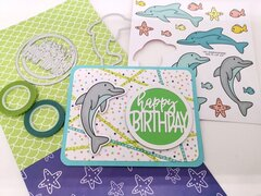 Happy birthday for dolphin lover