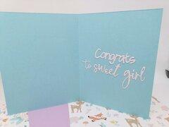 Congrats to sweet girl!