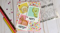 Easter Polaroid Card