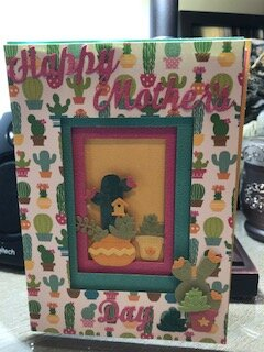 Happy Mother's Day Cactus Card