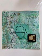 Evergreen Valentines card