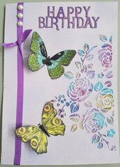 Cutout Butterfly Birthday