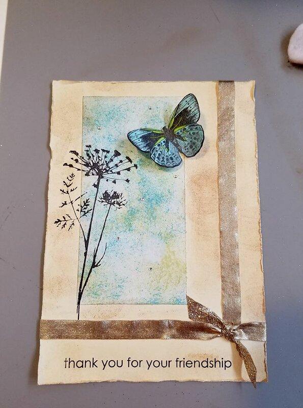 shabby butterfly