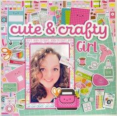 Cute & Crafty Girl