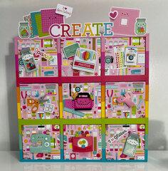 Doodlebug Design Cute & Crafty - Storage Side