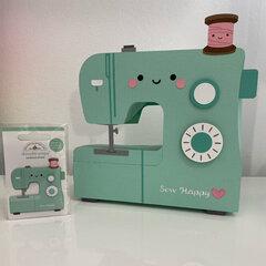Doodlebug Design Cute & Crafty - 3D Sewing Machine