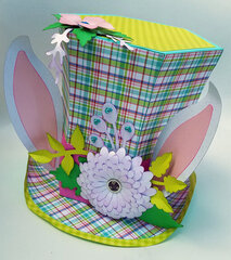 Mad Hatter/Easter Bunny Hat