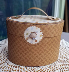 Basket-shaped Gift Box
