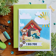 I Dig You - Shaker Card