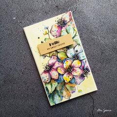 Hello My Sweet Friend Card