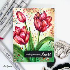 Holding you in my heart Card