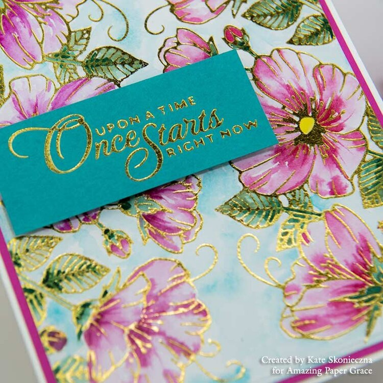 Watercolor Floral Card