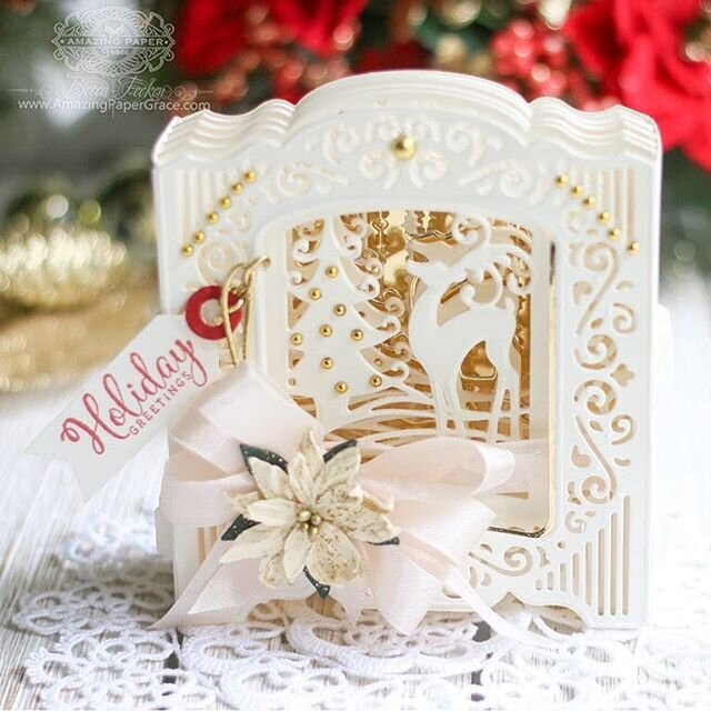 Holiday 3D Vignette Card